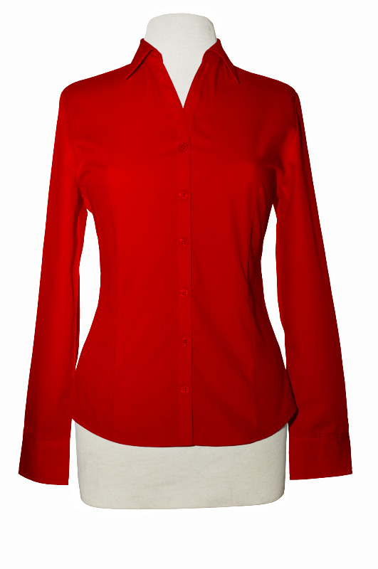 LL900M  - Ladies Wrinkle Resistant Long Sleeve Button Up